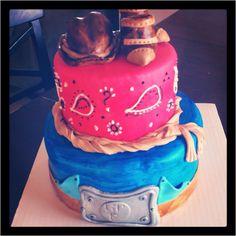 Little Cowboys Birthday cake