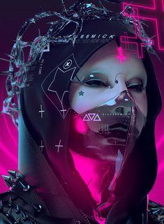 Cyberpunk 2077, Cyberpunk Girl, Arte Cyberpunk, Cyberpunk Fashion, Dark Souls Art, Dark Art, Neon Led, Cyberpunk Aesthetic, Satanic Art