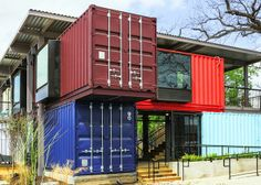 The Bar Built with Shipping Containers