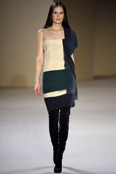 Akris Fall 2012 Ready-to-Wear Fashion Show - Alla Kostromichova (Marilyn)