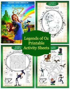 The Wizard of Oz has been a favorite story for years! That makes it a favorite story for movies as well. The latest version for kids is Legends of Oz, now available on DVD and Blu-Ray. Kids of all ages will love this musical, animated journey back to the magical world of Oz that features …
