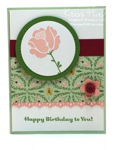 SUO Simple Stems Birthday by krissiestamps - Cards and Paper Crafts at Splitcoaststampers