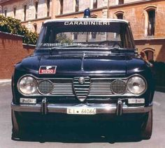 Alfa Romeo Giulia Ti Carabinieri