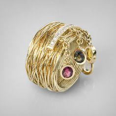 The online boutique of creative jewellery G.Kabirski | 12702 GK-sapphire, brilliant
