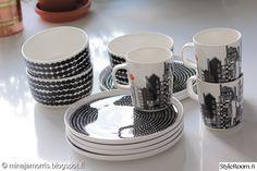 The lovely Marimekko Marimekko, Dishes, Mugs, Tableware, Kitchen, Decoration, Decor, Dinnerware, Cooking