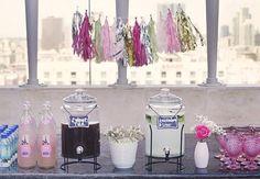 Chic Rooftop Bridal Shower | Photography: Ali Winston Photography | Event Design: Amanda of Igo YOUgo blog