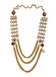 Raja Phool Necklace by Sannam Chopra | Indian Designers | Indian Jewellery