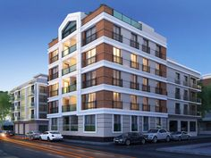 Mimarl K Mimari D Cephe Tasar M 3d Building Design Facade Architecture