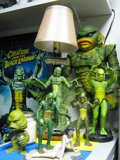 Creature From The Black Lagoon - Quite A Collection