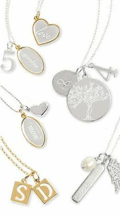 I LOVE the new additions to our charm collection! A personalized necklace makes a perfect, heartfelt gift! www.stelladot.com/wendyayer