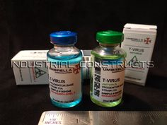 Resident Evil TVirus and AntiVirus Vials 2 by IndustrialConstructs, $21.00