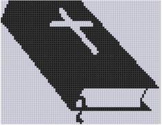 Mother Bee Designs: Bible Cross Stitch Pattern