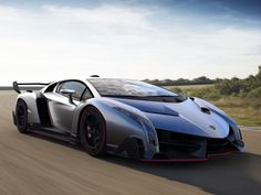 Lamborghini Veneno - A 4.6 million Lamborghini.  There are only going to be 3 made, and they are already all sold!