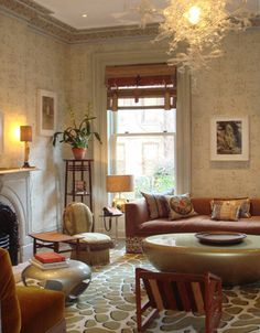 Living room by Muriel Brandolini.