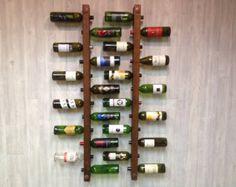 Tuscan Wine Rack 12 Bottle Ladders Set of 2 by VetrinaDelVino Wine Racks, Above And Beyond, Christmas Ships, Drywall Installation, Cork, Riverside House, Rough Wood, Boyfriend Crafts, Hardware