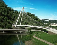 Traversina Wood Bridge Wooden Bridges Pinterest