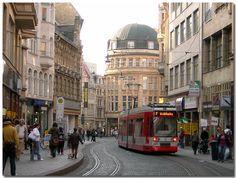 Halle City von Johannes Kohnert