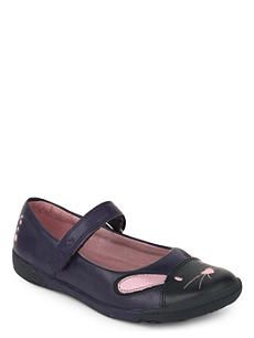 CLARKS Iva Bunny leather shoes 3-7 years