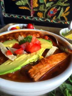 DDD Ep. #19 – Vegan Spicy Chicken Enchilada Soup with Homemade Red Enchilada Sauce