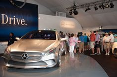 Mercedes-Benz Concept Style Coupe at the 94th PGA Championship. For more information, visit: http://www.mbenz.us/M12Ttd