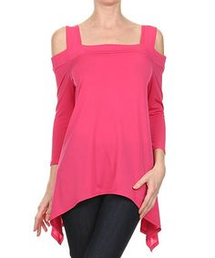 cutout sidetail top | zulily
