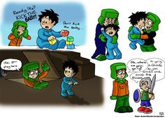 South Park Sketches - Kyle and Ike by Raax-theIceWarrior on deviantART