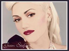 Gwen Stefani 5 American Singer Songwriter Fashion Designer Style Icon Poster