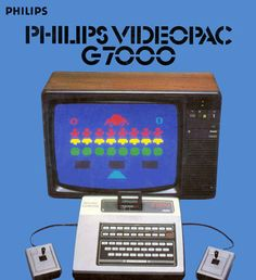 #Retro games console - The Philips Videopac | #videogames #vintage