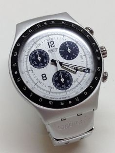 Swatch Irony Chrono Aluminum Ycs4004ag Quot Toxin Quot My Watch