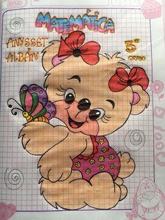 Hermosas para ti Baby Animal Drawings, Mehndi Images, Christmas Paper, Disney Wallpaper, Baby Animals, Barbie, Lettering, Stickers, School