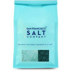 """Zen For Men - Foaming Bath Salts - 2 Lb Bag by San Francisco Bath Salt Company. $6.99. Made with fine/medium grain blend of Pacific Sea Salts. 2lb premium luxury retail bag with peek-a-boo window and aroma valve.. Foaming Bath Salts. Scented with our """"Zen for Men"""" fragrance, a light musk scent (phthalate free). Perfect for a relaxing bath at the end of the day. Our Zen for Men Foaming Bath Salts are packaged in a 2 lb luxury bag. Salt Color: blue Grain Size: Fine/Medium blend"""