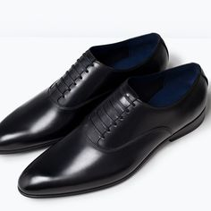 ZARA - MAN - FORMAL LEATHER OXFORD SHOE