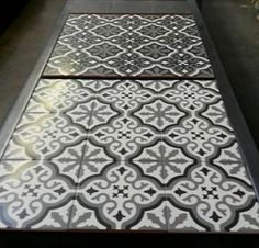 Decorative Patterned Wall and #Floor #tiles from Kalafrana Ceramics.  These new Spanish wall and floor tiles are on display at our Sydney showroom.  This range of glazed tiles requires no on going sealing or maintenance at all.  Great for #bathroom floors as well. http://www.kalafranaceramics.com.au