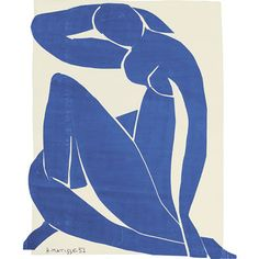Tate custom print: Matisse, Blue Nude II