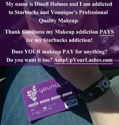 MSG ME about starting your own biz. Ask me anything! No pressure! dinellh@gmail.com or click JOIN at www.AmpUpYourLashes.com to learn more.