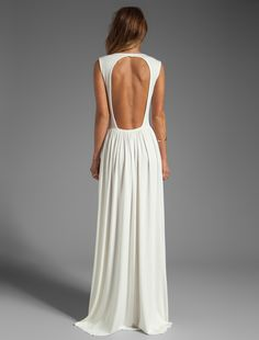 Fun backless dress: REVOLVE