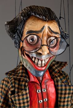 Master Otto marionette puppet