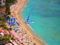 waikiki beach oahu hawaii Waikiki Beach, Oahu Hawaii, Places To Visit, Destinations, Outdoor Decor, Viajes