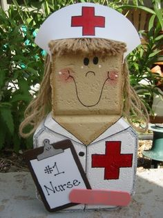 Nurse Patio Person via Etsy