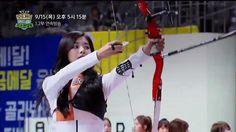 Tzuyu Archery Hair Flip