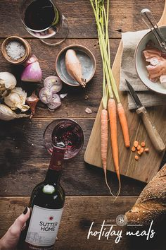 Which Sutter Home wine and homemade recipe and will be part of yours?
