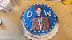 Doctor Who season finale cake by Crafty Kitsune.