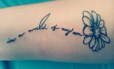 this is such a cute tattoo, and I feel like describes me perfectly.