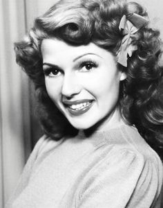 Rita Hayworth hair inspiration