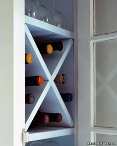 """See the """"Compact Wine Rack"""" in our Kitchen Organizers gallery"""
