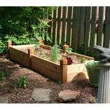 2' x 6' Cedar Raised Garden Bed (Trellis Optional)