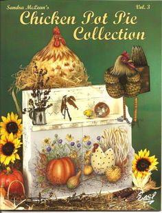 Details about Chicken Pot Pie Collection Vol Sandra McLean Tole Painting Pattern Book HTF Decorative Painting Projects, Tole Painting Patterns, Pattern Books, Pattern Art, Free Pattern, Doodle Art, Fabric Painting, Painting & Drawing, Decoupage