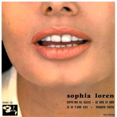 Image result for album covers with Sophia Loren