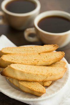 My Grandma's Biscotti Recipe by @browneyedbaker :: Vanilla butter nut flavoring not anise www.browneyedbaker.com