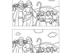 Pożądliwość ludu i przepiórki - zeszyt - Biblia Dla Dzieci